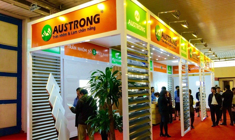 Austrong-viet-nam-chuyen-tran-nhom-lam-chong-nang-tham-gia-trien-lam-viet-build-2015